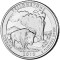 2010 P Yellowstone National Park, Wyoming Quarter Dollar Uncirculated