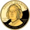 2010 W Abigail Fillmore Commemorative 1/2 oz Gold Proof $10