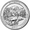 2011 P Olympic National Park , Washington Quarter Dollar Uncirculated