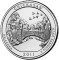 2011 P Chickasaw National Recreation Area , Oklahoma Quarter Dollar Uncirculated