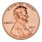 2011 D Lincoln Cent Uncirculated (Shield Reverse)