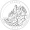 2012 Acadia National Park , Maine Quarter Dollar (line art design)