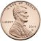 2014 S Lincoln Cent Proof (Shield Reverse)