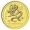 2000 Australian Gold Dragon 1 oz 100 Dollars