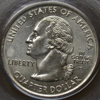 Coin Page: 2004 D Iowa State Quarter Dollar Reverse Clad