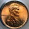 1919 Lincoln Cent Red