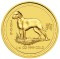 2006 Australian Dog Gold 1/4 ounce 25 Dollars