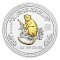 2004 Australian Silver Monkey Gilded Edition 1 ounce 1 Dollar