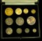 1887 Great Britain Gold and Silver Mint Set